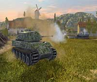 شرح لعبة عالم الدبابات الغارة World of Tanks Blitz