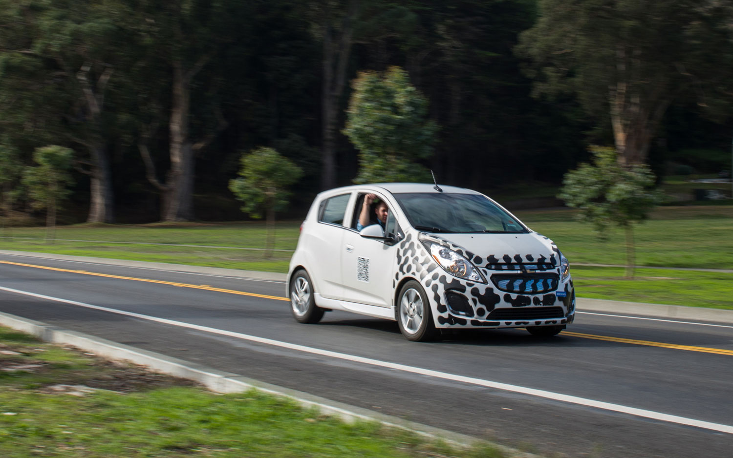 Chevy Spark Electric Vehicle Prototype Autoblog
