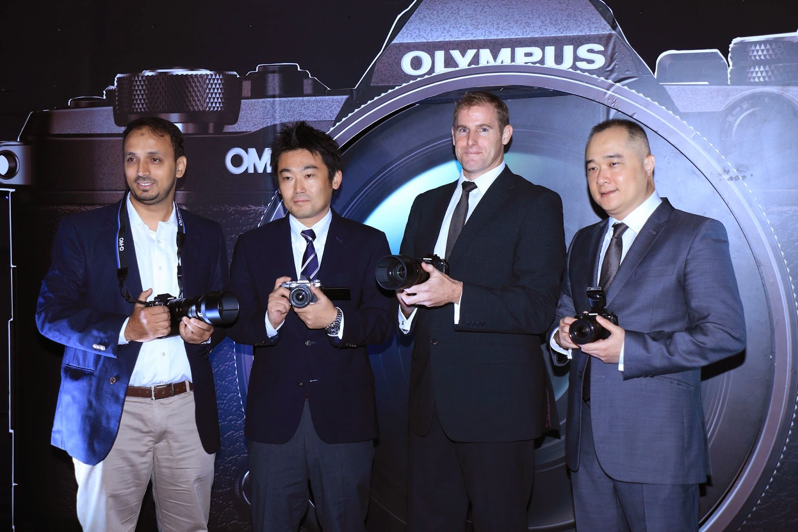 Olympus OM-D E-M5 Mark II launch