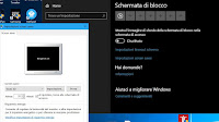 Impostazioni Screen saver in Windows 10 e 7