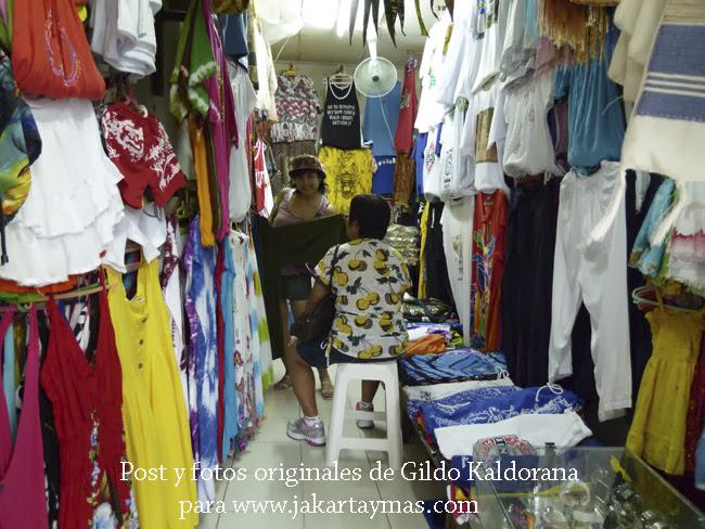 Tienda de ropa en Bali