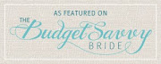 Featured on Budget Savvy Bride