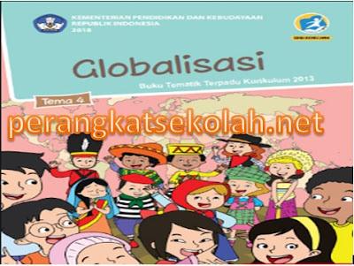 RPP Tematik Kelas 6 SD/MI Kurikulum 2013 Revisi 2018 Semester 1 Tema 4 Globalisasi