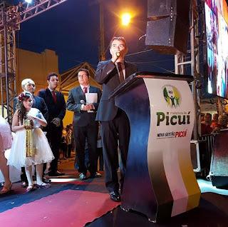 Posse histórica do prefeito Olivânio marca dia 1° de janeiro em Picuí