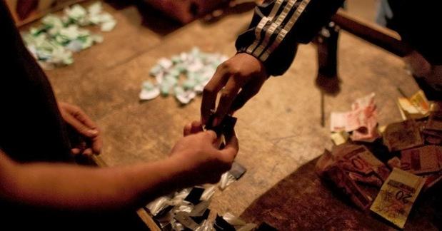 Jovem vendia a droga nas ruas do bairro São Cristóvão, em Três Barras