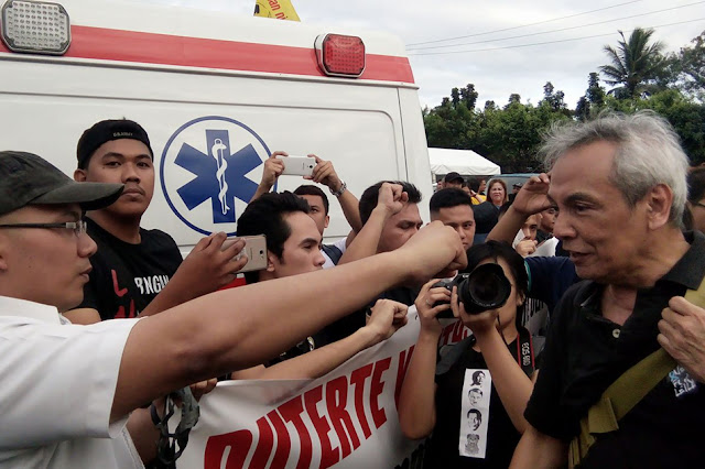 Duterte Youth considers charges against Jim Paredes
