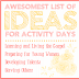 Awesomest list of ideas for Activity Days!! Activity Day Ideas Galore!