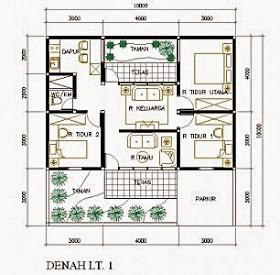 GambarRumahDot: Rumah Minimalis Ukuran 9x9