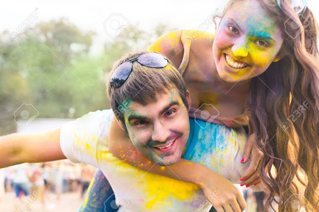 Happy Holi Couple Images In Hd-Download Couple Image Free