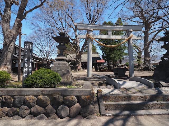 海野宿 白鳥神社