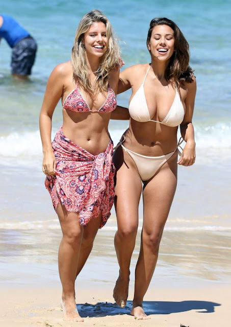 Natasha Oakley and Devin Brugman Bikini Photoshoot
