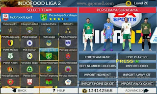 Download FTS Mod FIFA 17 Soccer v3 by Anwar Apk + Data