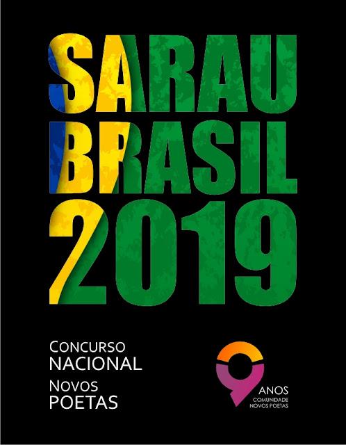 Concurso Nacional Novos Poetas. Sarau Brasil 2019.