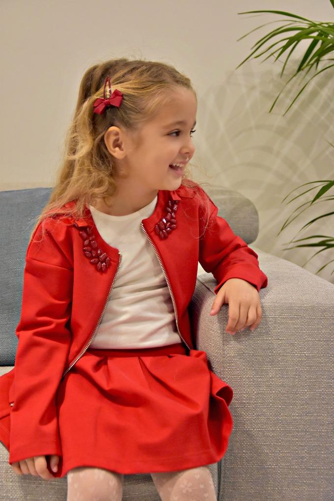 Moda per Bambini: un Natale in rosso