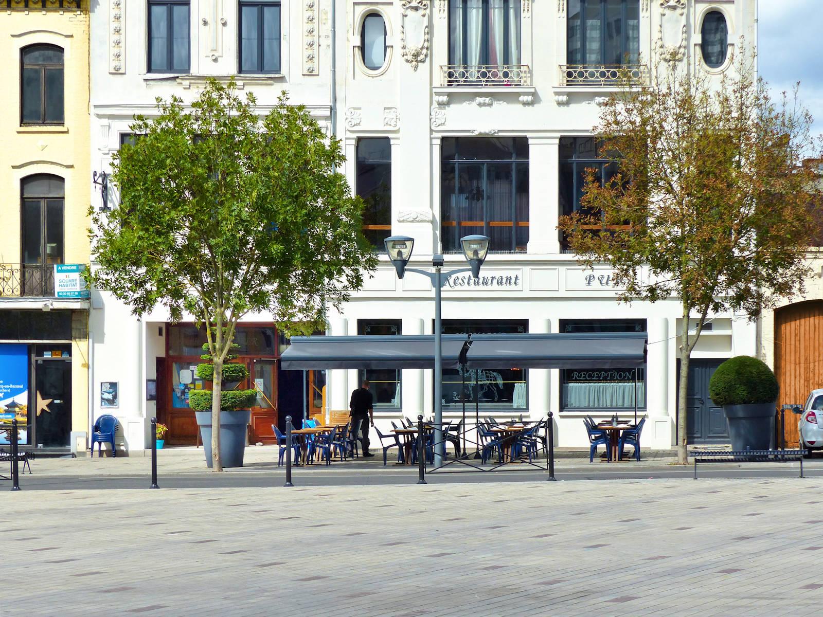 Restaurant le P'tit Quinquin, Tourcoing - Terrasse