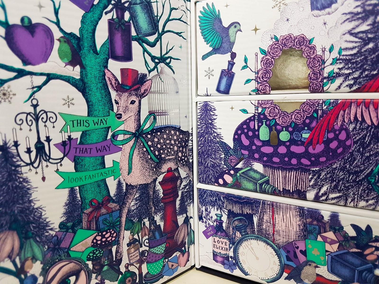 avis_calendrier_de_l_avent_look_fantastic_2017_beauty_in_wonderland_code_promo_mama_syca_beaute