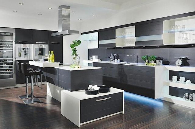 Decoraci n de cocinas contempor neas cocina y reposteros for Diseno de cocinas contemporaneas