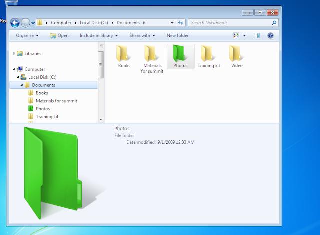 تغير لون المجلدات في نظام ويندوز بأسهل طريقة