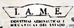 Logo IAME marca de autos