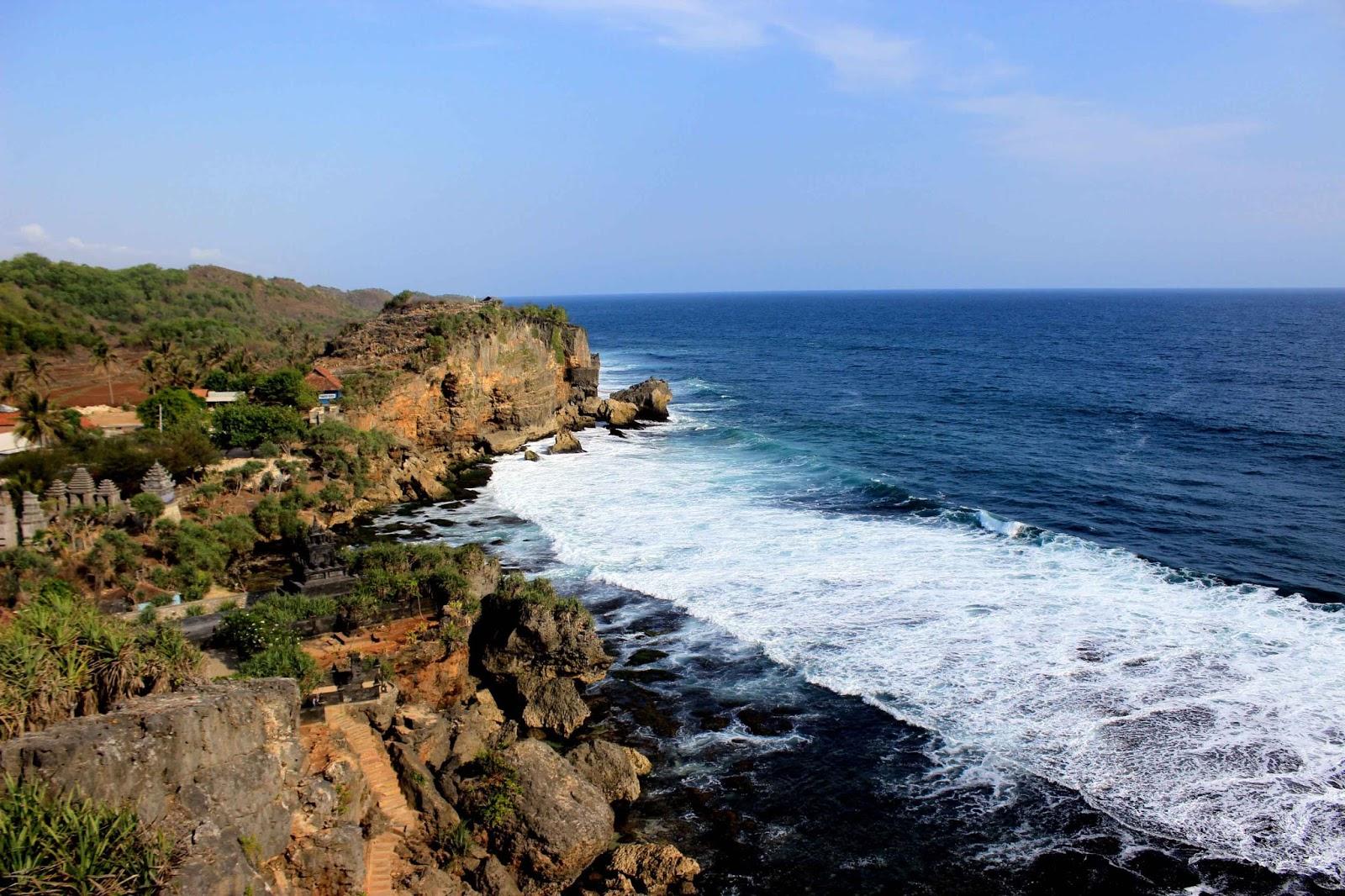 Wisata Pantai Ngrenehan Dan Ngobaran Dung Riu Adventure Centre