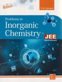 PROBLEMS IN INORGANIC CHEMISTRY BY V K JAISWAL