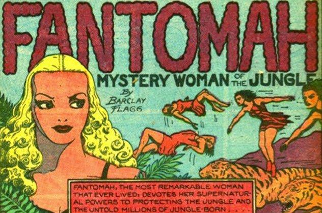 Fantomah İlk Kadın Süper Kahraman