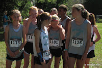 Swift Creek cross country girls