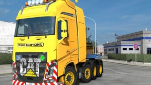 Caterpillar Paint job for Volvo FH12