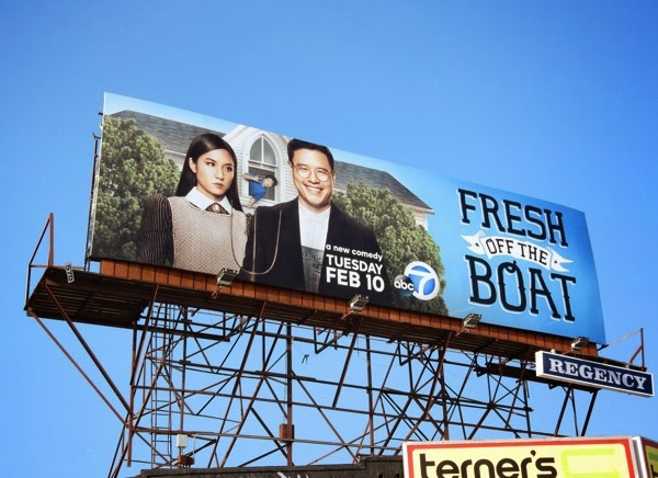Fresh Off the Boat series premiere billboard