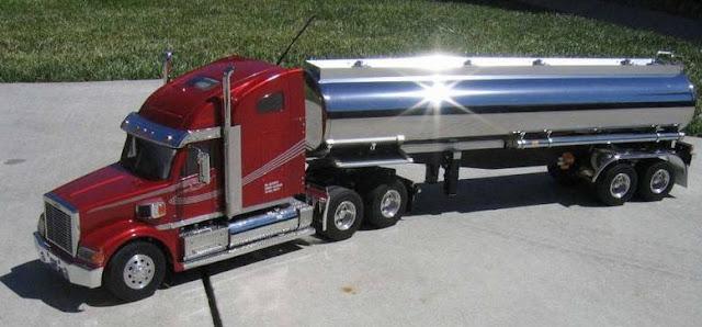 gambar truk mainan gandeng panjang