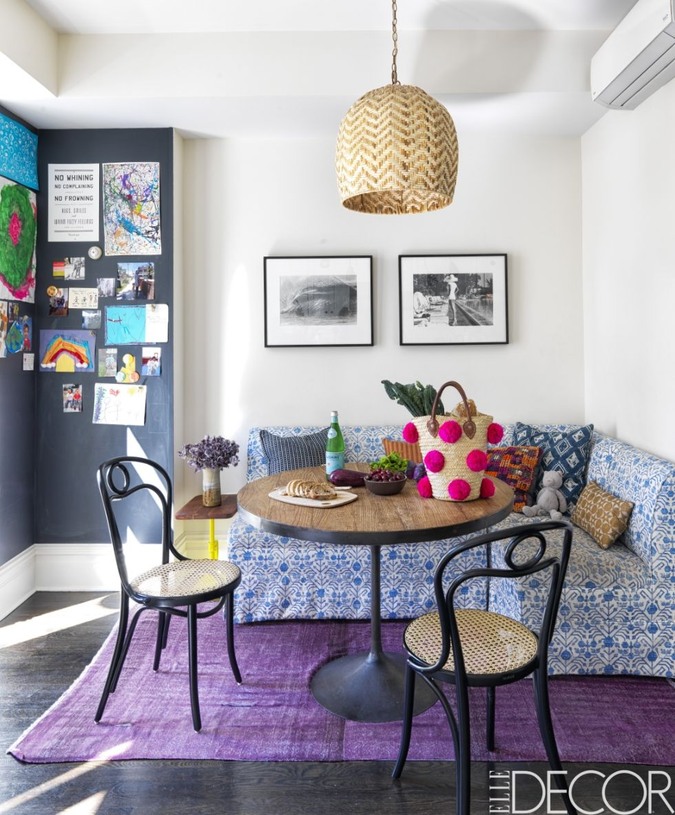 Homepolish Brooklyn Apartment Design With Cool Wallpaper: A Textile Guru's NY Townhouse
