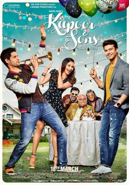 Watch Kapoor & Sons (2016) DVDRip Hindi Full Movie Watch Online Free Download