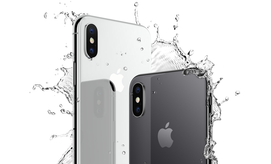 iPhone-X-acqua