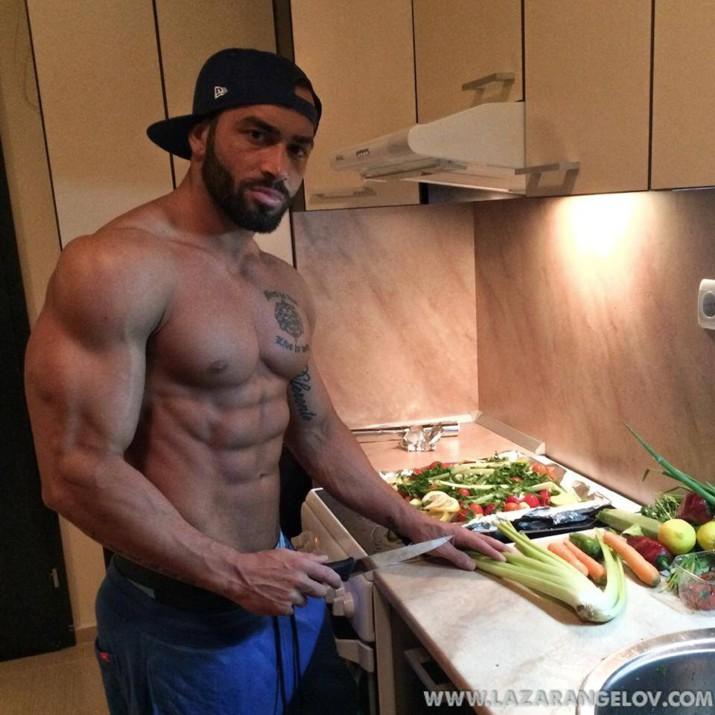 Lazar Angelov Cooking Food Meal