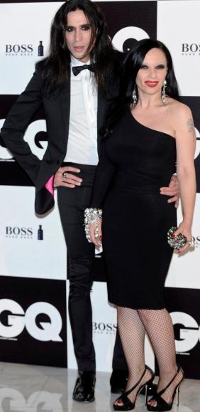 Foto de Mario Vaquerizo con su pareja