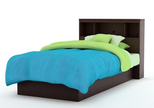 Dormitorio muebles modernos cama individual for Camas individuales juveniles