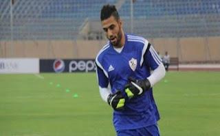 أحمد الشناوي ينقذ مرمى الزمالك من هدف محقق من محمد فضل في مباراة المقاولون العرب