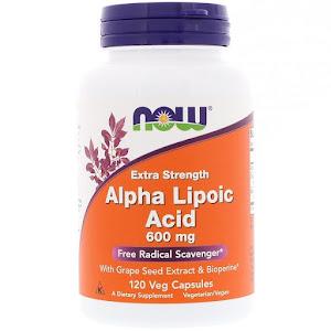 Now Foods - Alpha-lipoic Acid