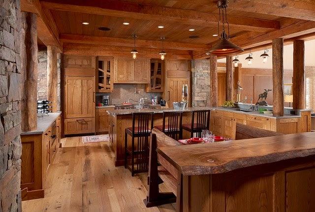 Diseños De Cocinas Americanas Pequeñas Rusticas - homify