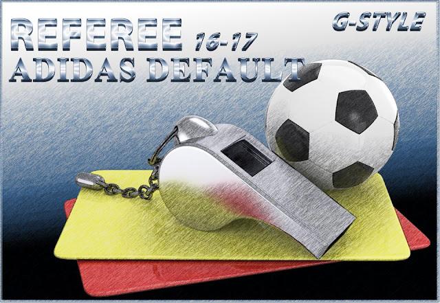 PES 2017 Referee Adidas Default 2017 dari G-Style