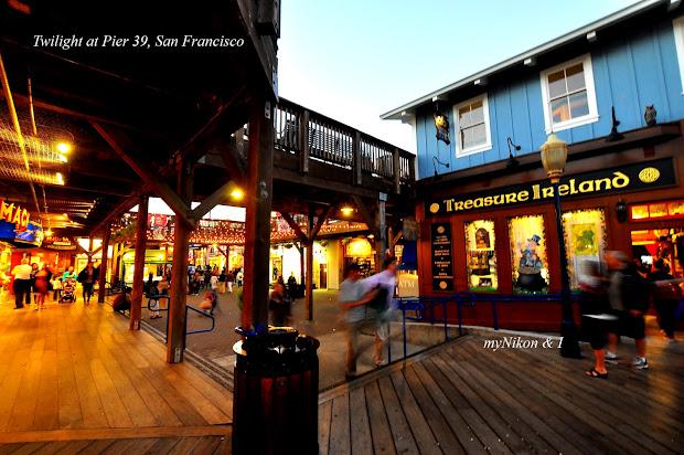 Nikon And San Francisco Pier 39 & Fisherman