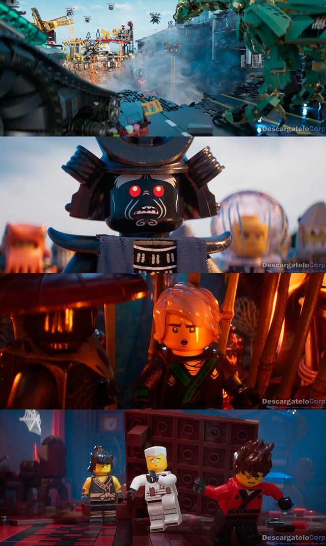 Lego Ninjago La Pelicula (2017) 4K UHD Latino