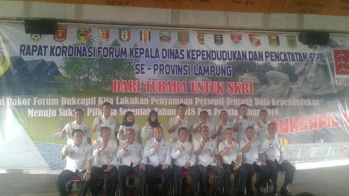 Fauzi Hasan Apresiasikan Pembentukan Forum Kadis Disdukcapil Se-Provinsi Lampung