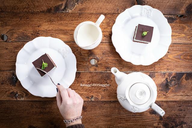 Brownies cioccolato e menta