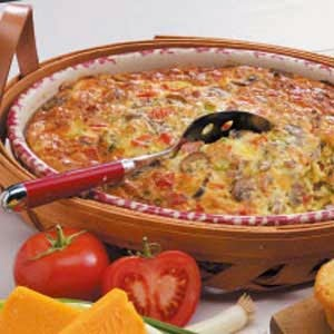 RecipeReview Sausage Brunch Casserole