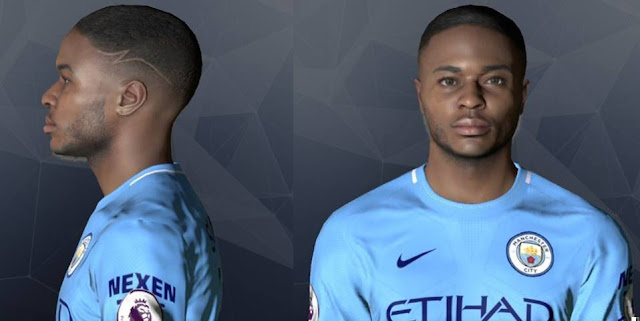 Raheem Sterling Face PES 2017