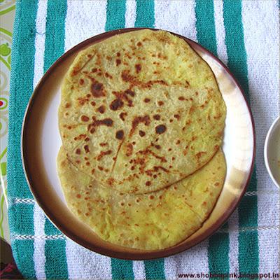 Stuffed Muli Paratha