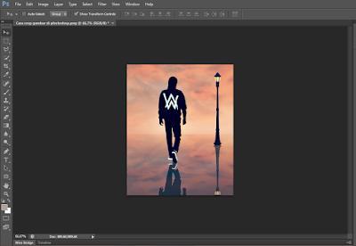 Cara Praktis Memotong (Crop) Gambar di Photoshop 9