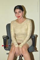 Actress Pooja Roshan Stills in Golden Short Dress at Box Movie Audio Launch  0063.JPG