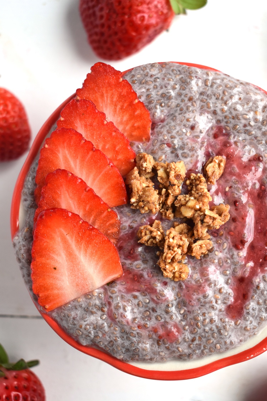 Strawberry Chia Seed Pudding Recipe